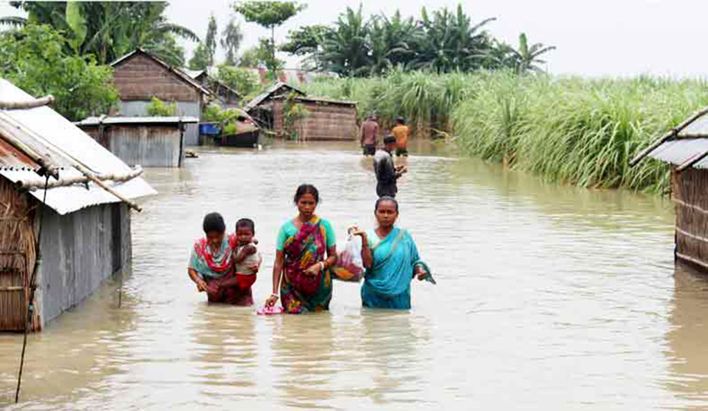 Flood in Bangladesh in Picture | Barcik Resource Centre ...